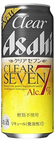 クリアアサヒ クリアセブン 500ml缶 500ML × 24缶