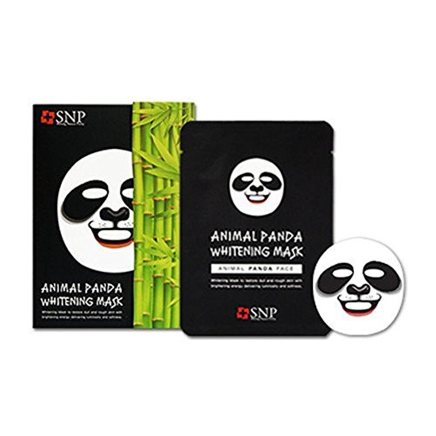 織る世界的にオープニングSNP エスエンピ 動物マスクシート 10枚入り1box (Animal Mask 10 sheet) 海外直送品 (パンダ Panda)