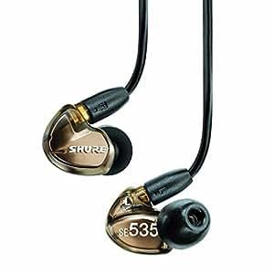 SHURE イヤホン SEシリーズ SE535 カナル型 高遮音性 メタリックブロンズ SE535-V-J 【国内正規品】