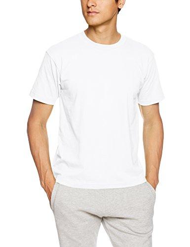 (ヘインズ)Hanes Tシャツ BEEFY H5180 010 ホワイト L Tシャツ