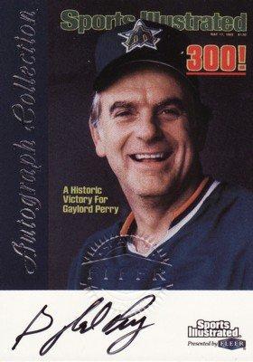 ゲイロード・ペリー Gaylord Perry 1999 Sports Illustrated Greats of the Game Autographs MLBカード