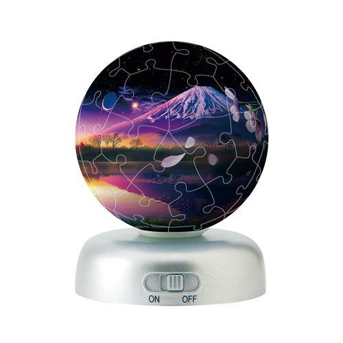 60ピース 光る球体パズル パズランタン 冨星天 -北斗星の空-