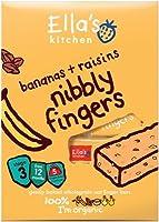 Ella's Kitchen - Nibbly Fingers - Banana & Raisins - 5x25g (Case of 8)