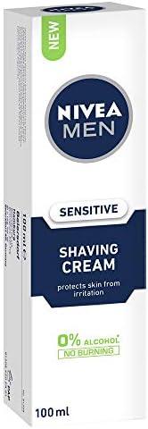 NIVEA MEN Sensitive Shaving Cream, 100ml