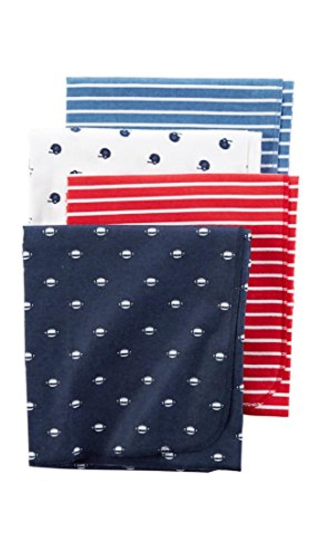 Carter 's Football Receiving Blankets – 4のセット
