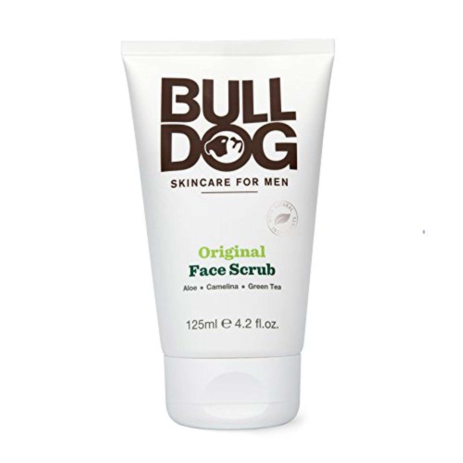 マッサージ補助金回るブルドッグ Bulldog オリジナル フェイススクラブ(洗顔料) 125mL