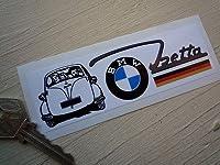 BMW Isetta Bubble Car Sticker ステッカー デカール シール 海外限定 125mm x 40mm [並行輸入品]