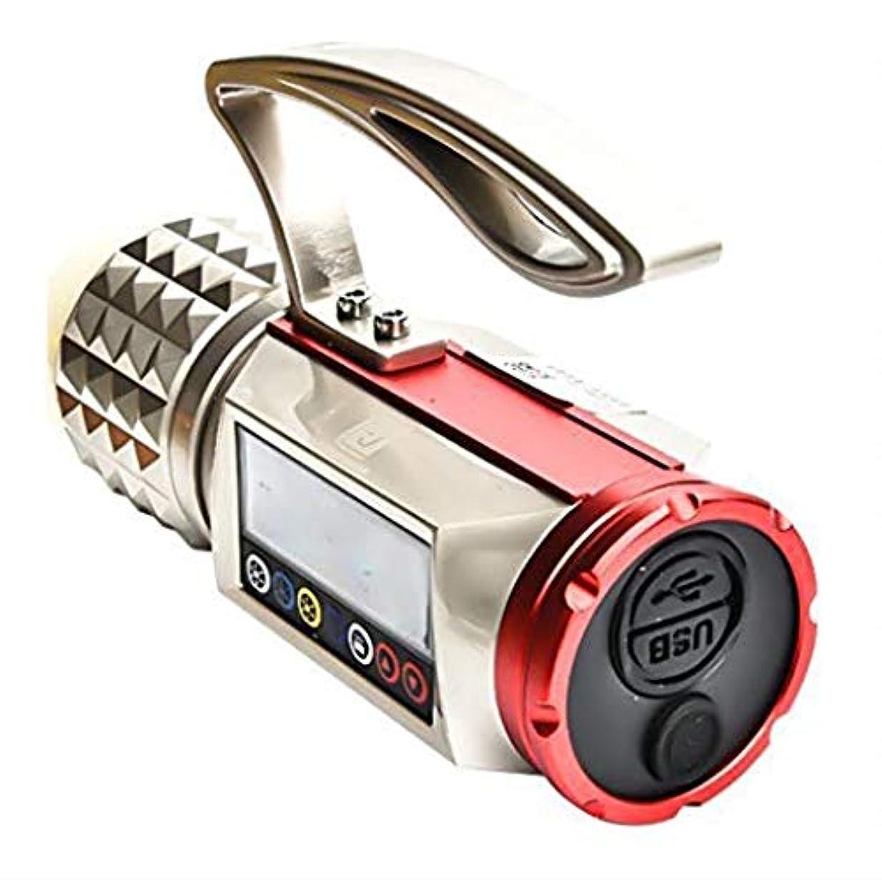 三番報酬のカタログ懐中電灯LEDグレア防水USB充電多機能釣りランプキャンプ電気トーチ