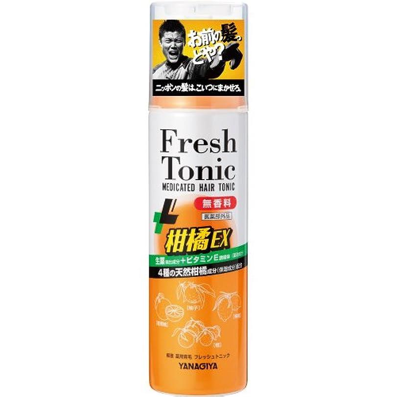 摂氏熟すより良い柳屋 薬用育毛 フレッシュトニック 柑橘EX <無香料> 190g