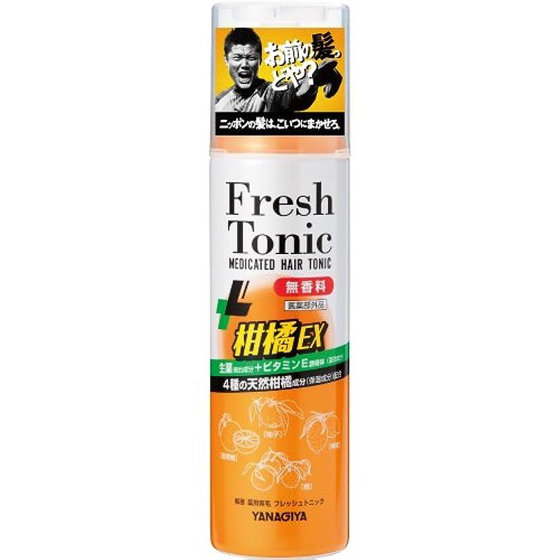 動想像力豊かな恐ろしいです柳屋 薬用育毛 フレッシュトニック 柑橘EX <無香料> 190g