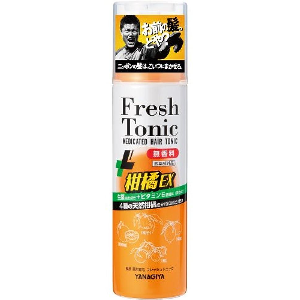 私の報酬のいつ柳屋 薬用育毛 フレッシュトニック 柑橘EX <無香料> 190g