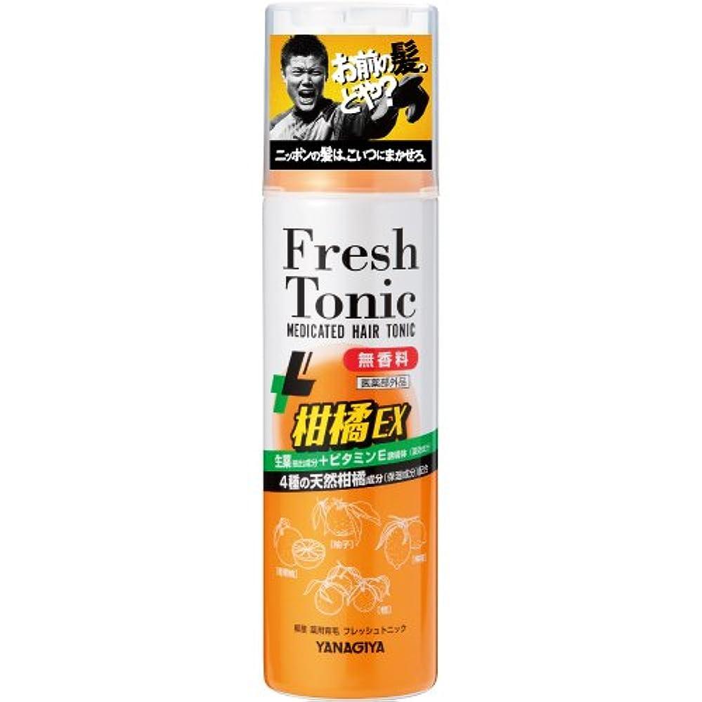 速度フィードバック忌避剤柳屋 薬用育毛 フレッシュトニック 柑橘EX <無香料> 190g