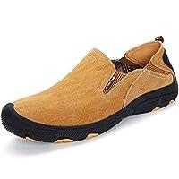 [インボラ] 靴 登山靴 ハイキングシューズ メンズ トレッキングシューズ キャンプシューズ 男の子 クライミング 本革 耐磨耗 防滑 アウトドア イエロー JBH36 27.5cm