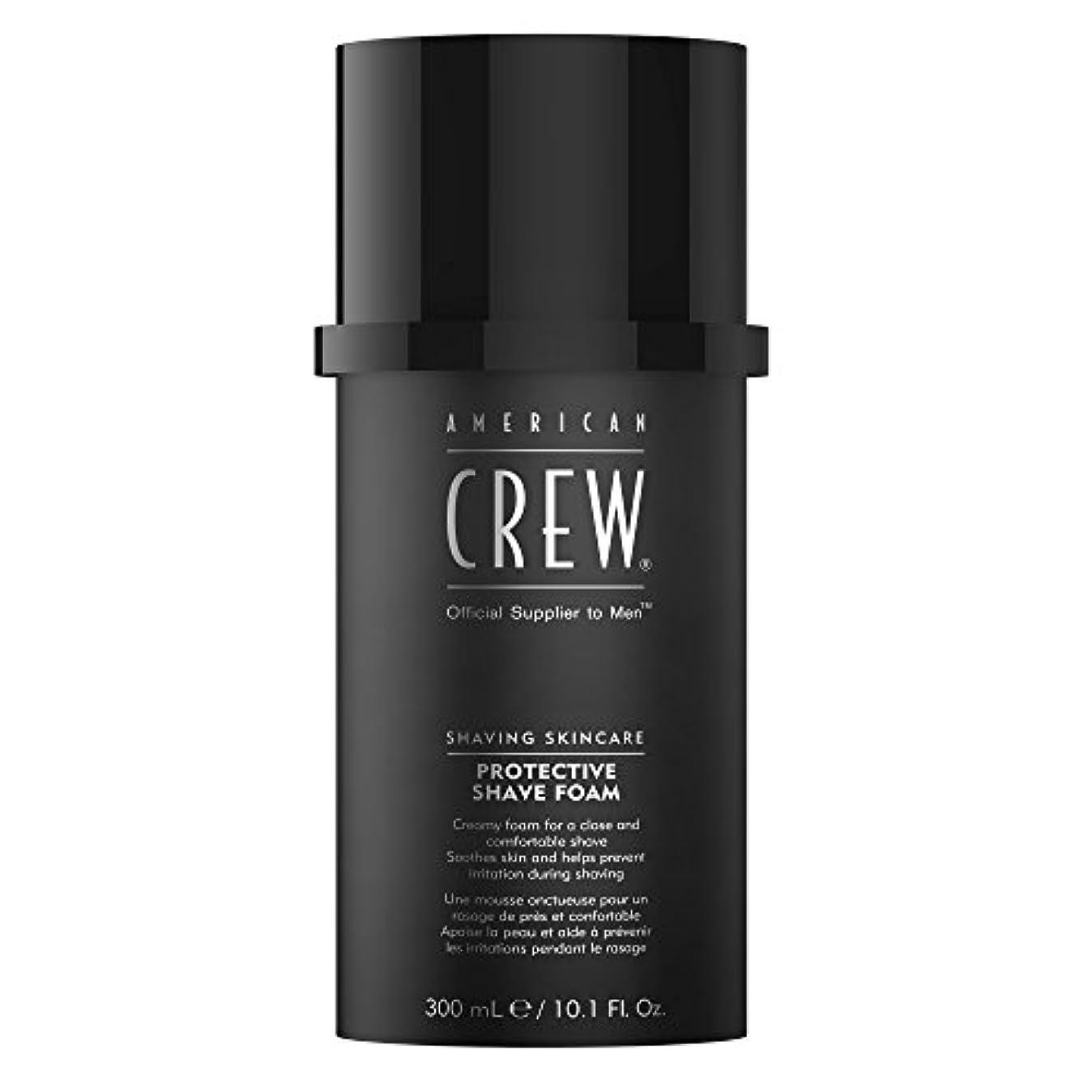 の配列スパン資料American Crew Protective Shave Foam 300ml