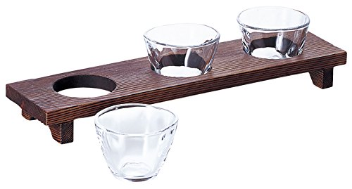 アデリア ガラス 小鉢 90ml てびねり 三味三昧 日本製 食洗機対応 S-5408