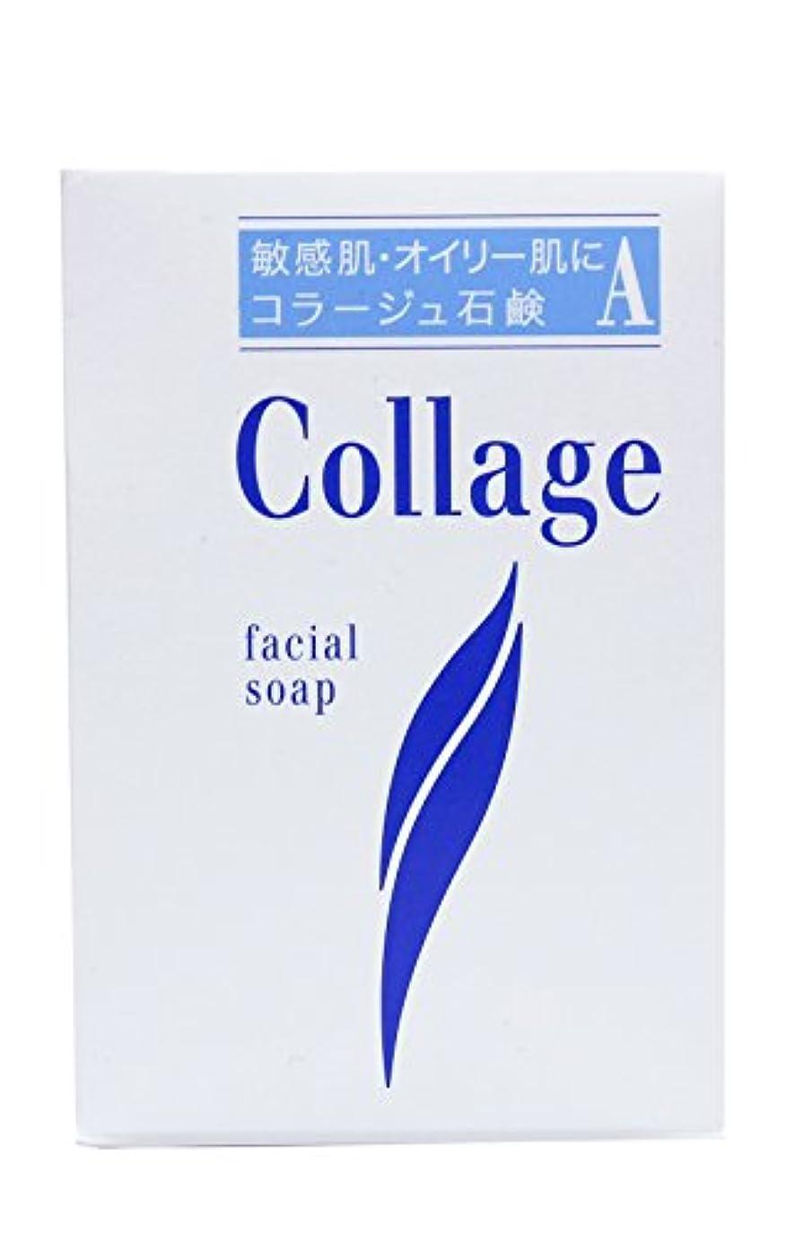 反射。置換コラージュ A脂性肌用石鹸 100g