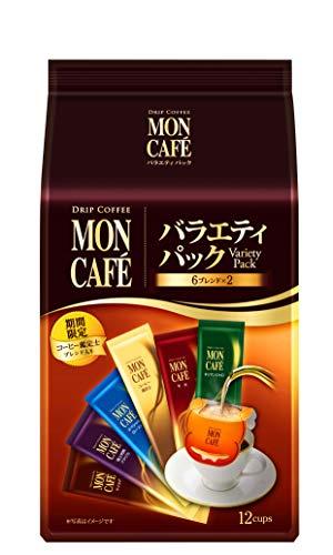 片岡物産 モンカフェ バラエティパック 1パック(12袋)