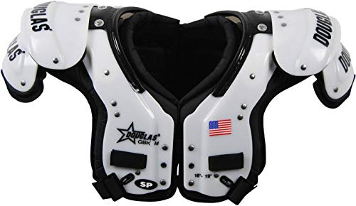 DC - SP QBK Adult Football Shoulder Pads – QB / WR / DB L