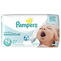Pampers Swaddlers Newborn Diapers Size 0 27 count by Pampers