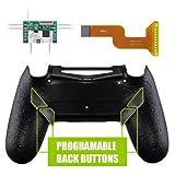PS4 コントローラー用 リマッピング機能&背面ボタン付きバックシェル テクスチャードブラック【適合型式 CUH-ZCT2(JDM-040/050/055)】 [並行輸入品]