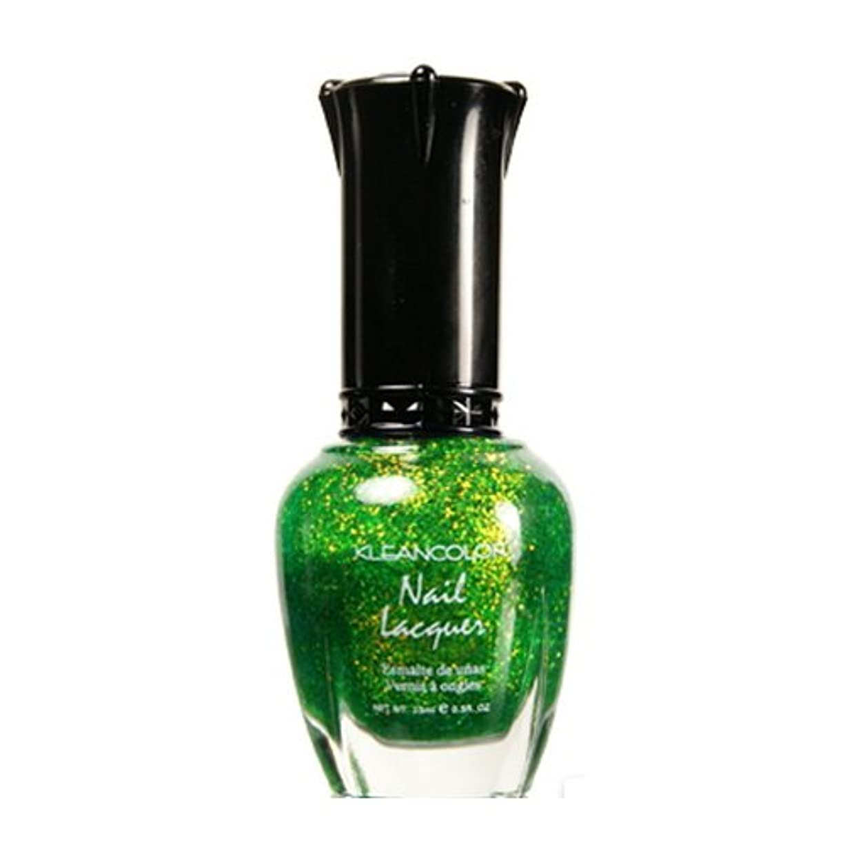(3 Pack) KLEANCOLOR Nail Lacquer 4 - Chunky Holo Clover (並行輸入品)