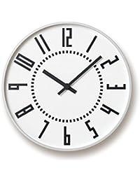 Lemnos/レムノス エキクロック 掛け時計 ホワイト