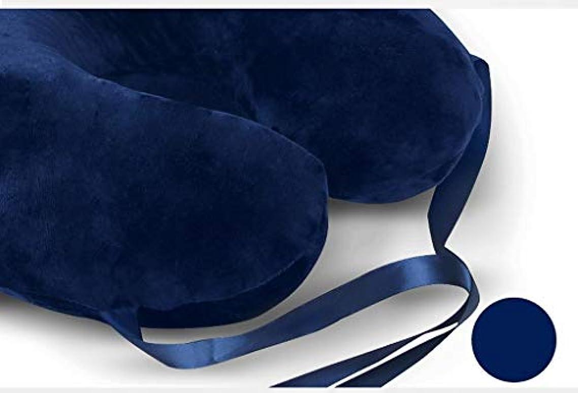 排除する押すいいねDYHOZZ U - ネックピロー昼寝枕カートラベルピロータイ看護枕ラテックス枕 - 天然ラテックス枕 U字型の枕 (Color : A)