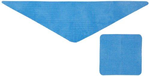 業務用 ひんやりスカーフ+ハンカチ ブルー(40コ入)