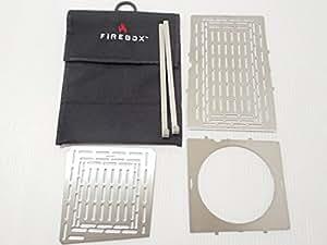FIREBOX (ファイヤーボックス) アクセサリーキット オプション 5点セット (本体は別売り) 5インチ Folding キャンプ ファイヤーボックス  ウッドストーブ 【日本正規品】