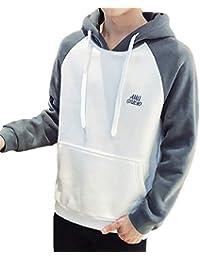 [meryueru(メリュエル)] ラグランスリーブ プルオーバー パーカー 選べる デザイン カラー 今風 春 秋 冬 メンズ