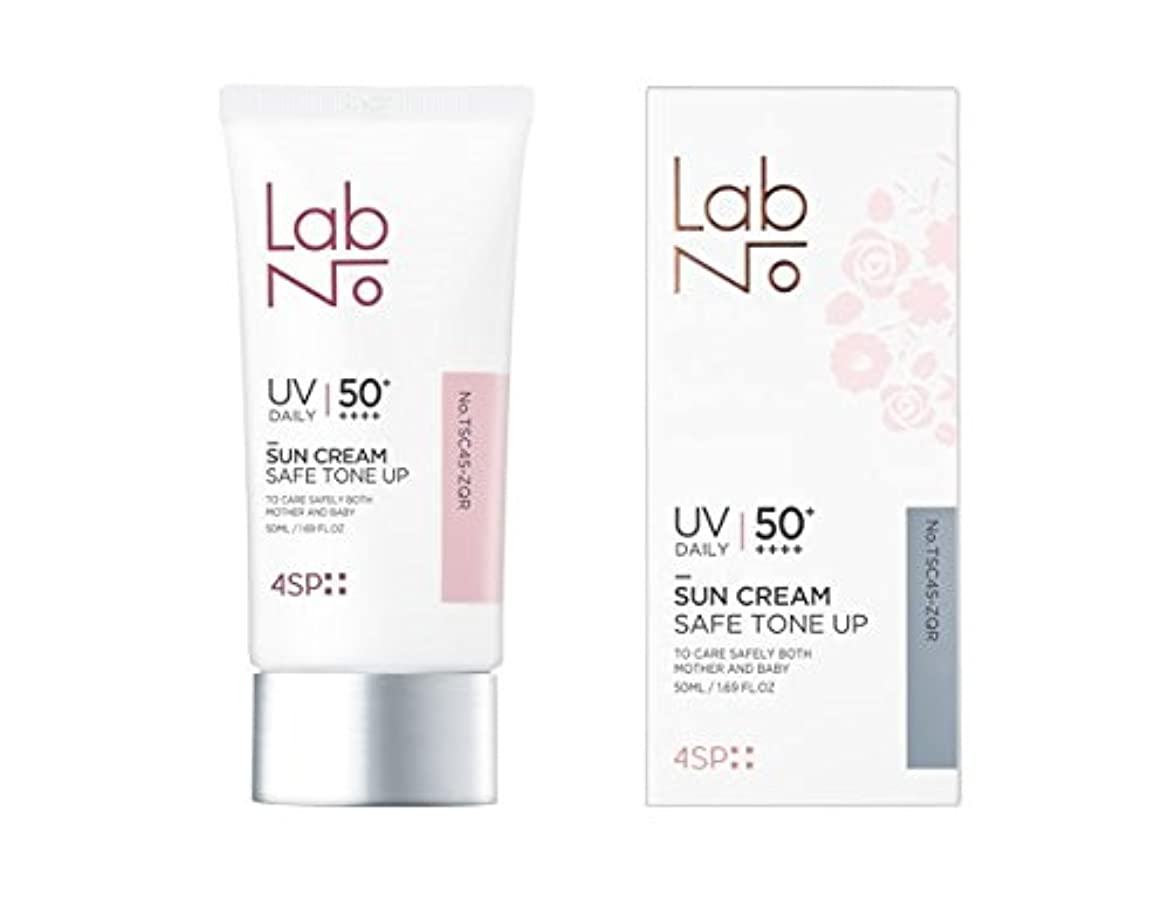 話をする区別化学[LabNo.]4SP セーフ トーンアップ サンクリーム 50ml(4SP Safe Tone-up Sun Cream) [並行輸入品]
