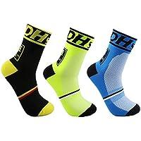 Men's Cycling Socks Unisex Breathable Sports Running Trekking Socks