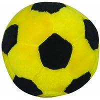 ソフトサッカー ソフトサッカーボール イエロー×ブラック 6個入りまとめ買い  (別売で」ソフトサッカーゴールセット人気です) 小学校低学年までの対象製品です!!