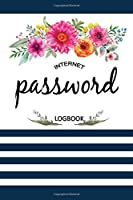 Internet Password Logbook: Log Book and An Organizer for All Your Passwords, Alphabetical Pocket, Protect Usernames and Notebook
