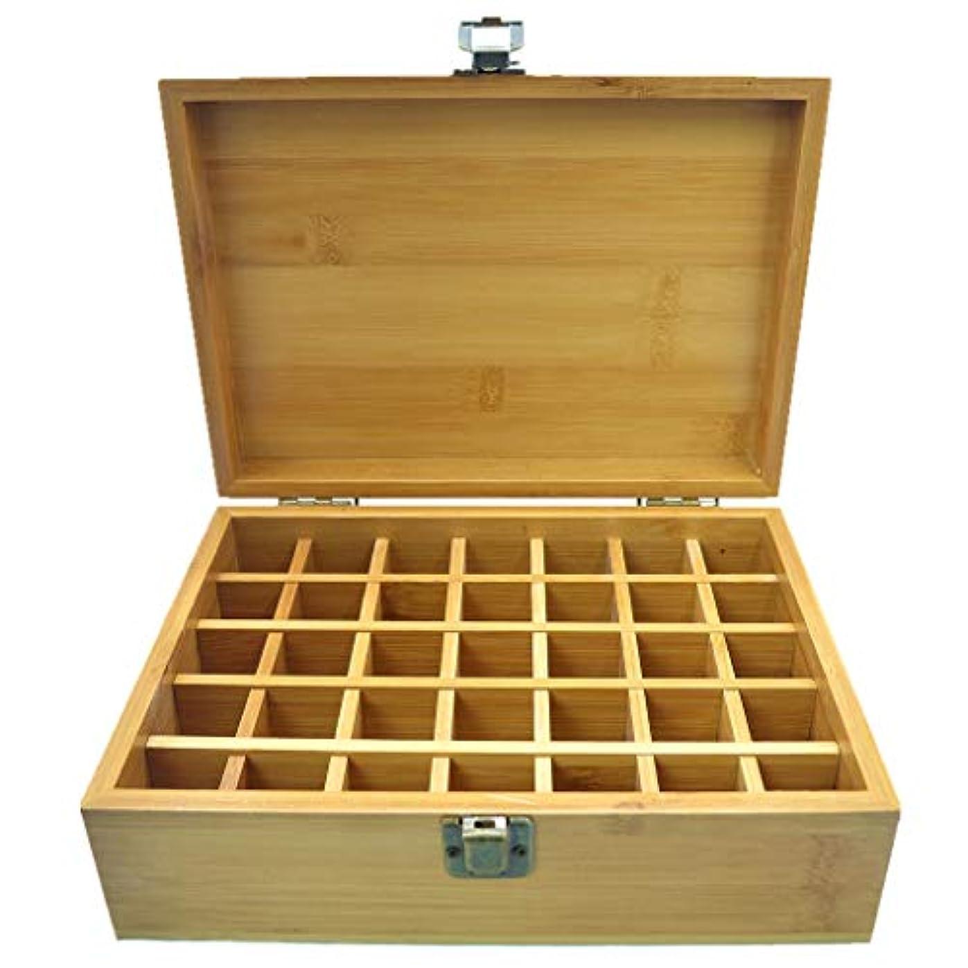 申し立てられたプレゼン教会PhantomSky エッセンシャルオイル収納ボックス 35本用 竹製エッセンシャルオイルボックス メイクポーチ 精油収納ケース 携帯用 自然ウッド精油収納ボックス 香水収納ケース