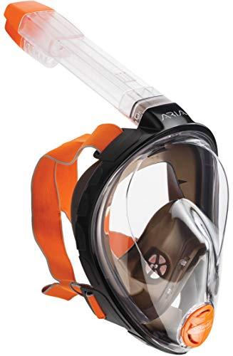 Ocean Reef ARIA - Full Face Snorkeling Mask, Black, S/M