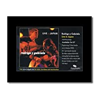 RODRIGO Y GABRIELA - Live In Japan Mini Poster - 21x13.5cm
