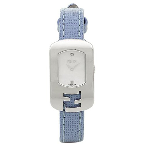 (フェンディ) FENDI フェンディ 時計 FENDI F300024532D1 カメレオン レディース腕時計ウォッチ ホワイト/シルバー/ブルー [並行輸入品]