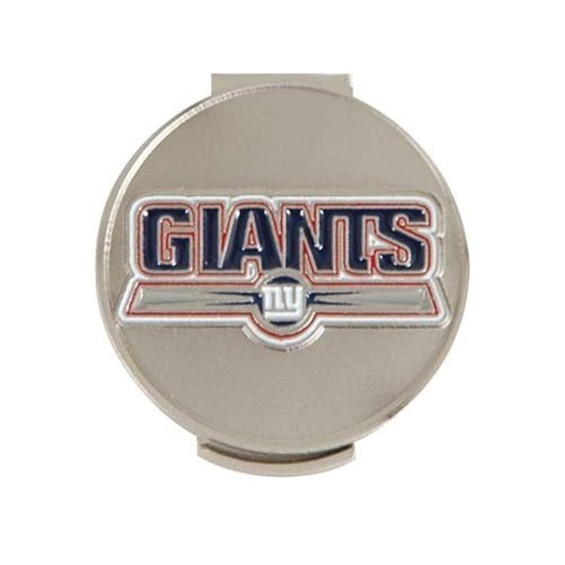 師匠流産約NFL Giants ハットクリップ&ボールマーカー [並行輸入品]