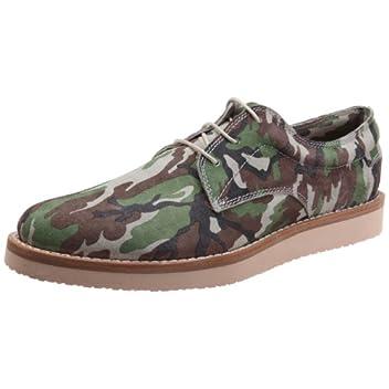 Plain Toe Shoe 1230: Camouflage