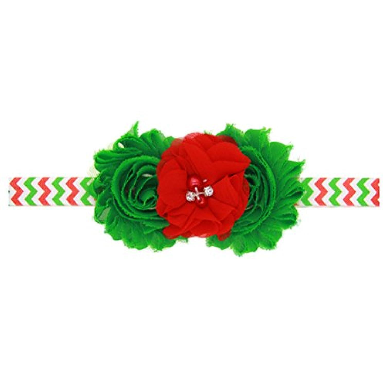 Zhhlinyuan ベビー小物 Girls Toddler Kids Christmas/Photography Pops/Costume/Party Elastic Handmade Headband Hairband