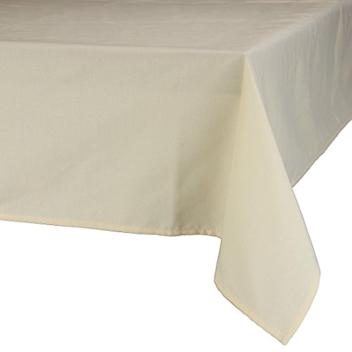 エジプト灰誤解を招くMAJEST(マジェスト) テーブルクロス 正方形150cmx150cm 布地 バミューダーサンド 無地 繋なし 吸水タイプ