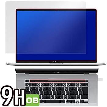 PET製フィルム 強化ガラス同等の硬度 高硬度9H素材採用 MacBook Pro 16インチモデル Touch Barシートつき 用 日本製 光沢液晶保護フィルム OverLay Brilliant 9H O9HBMBP16TB/1