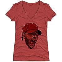 500レベルのアダム・ウェインライトレディースTシャツ–セントルイス野球ファンギアの公式ライセンスMLB Players Association–アダム・ウェインライトScream R