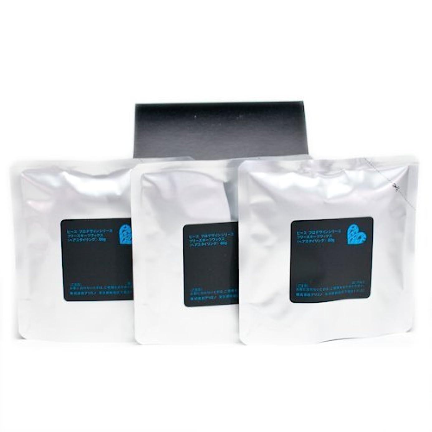 解放メタルライン接尾辞アリミノ ピース フリーズキープワックス (ブラック)80g(業務?詰替用)×3個入り