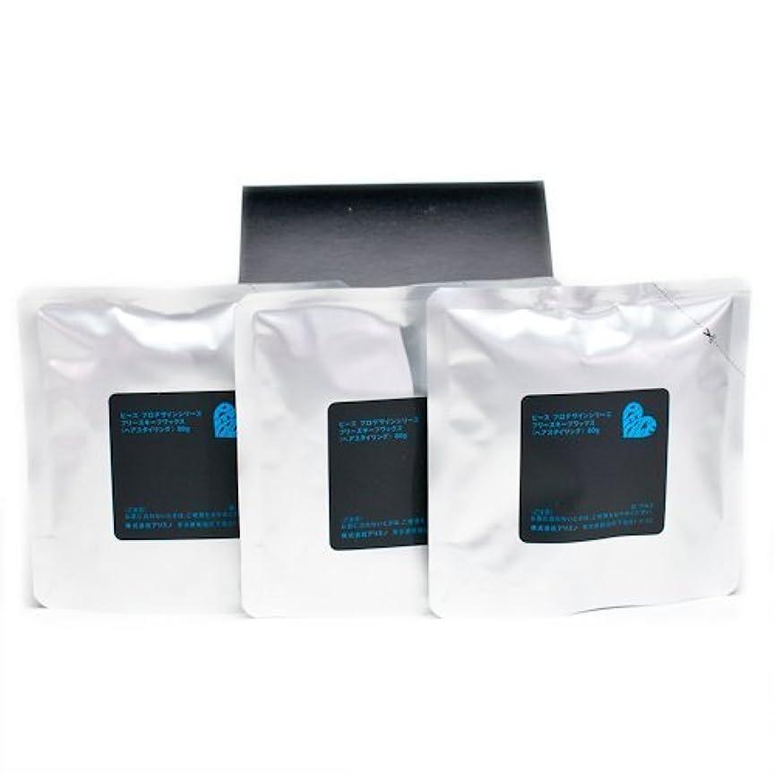摩擦ひねり起きているアリミノ ピース フリーズキープワックス (ブラック)80g(業務?詰替用)×3個入り