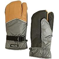 スキーグローブ メンズ ミトン スキー 手袋 3本指 スノーグローブ W2415-01