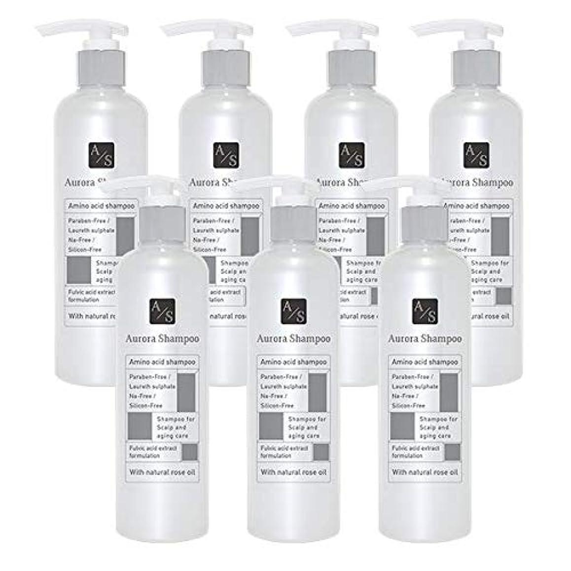 バレエジャポン「オーロラシャンプー」フルボ酸 ミノキシジル誘導体 スカルプケア オーガニックアミノ酸シャンプー300ml (7本限定ラベル)