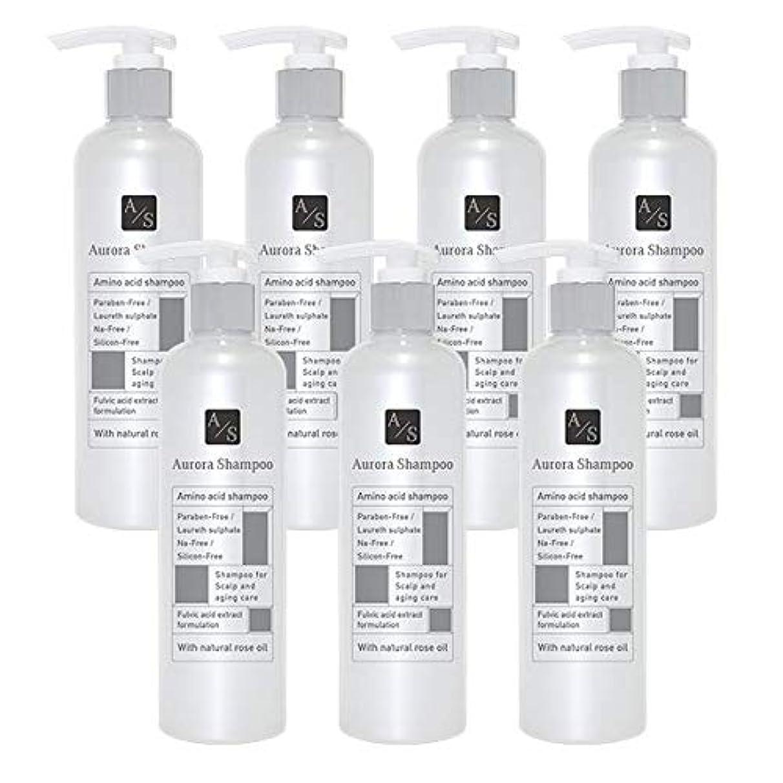 請求震える商品バレエジャポン「オーロラシャンプー」フルボ酸 ミノキシジル誘導体 スカルプケア オーガニックアミノ酸シャンプー300ml (7本限定ラベル)