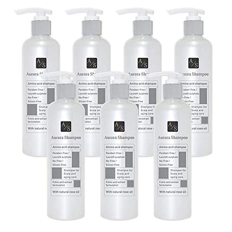 習熟度冷蔵する包括的バレエジャポン「オーロラシャンプー」フルボ酸 ミノキシジル誘導体 スカルプケア オーガニックアミノ酸シャンプー300ml (7本限定ラベル)